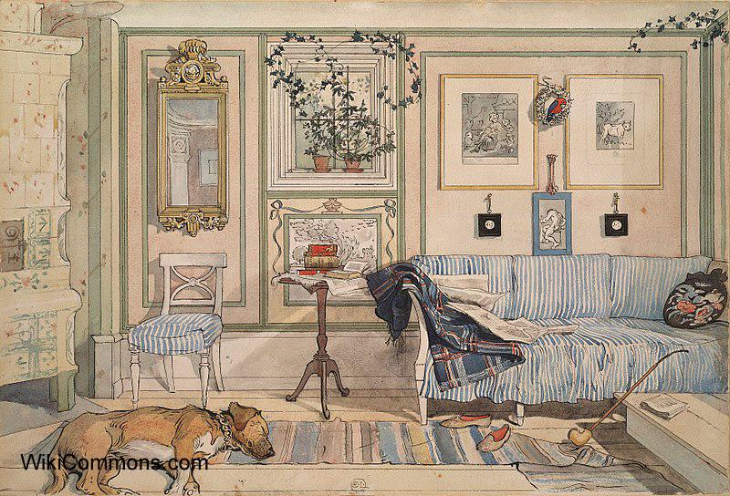 Styl skandynawski w malarstwie Carla Larssona