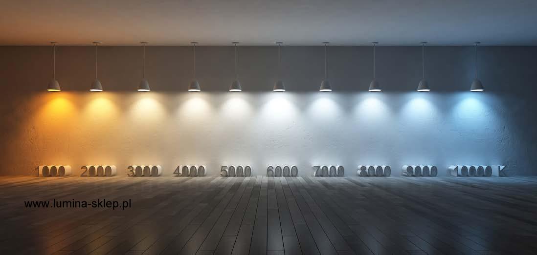 Jak dobrać oświetlenie pod względem barwy