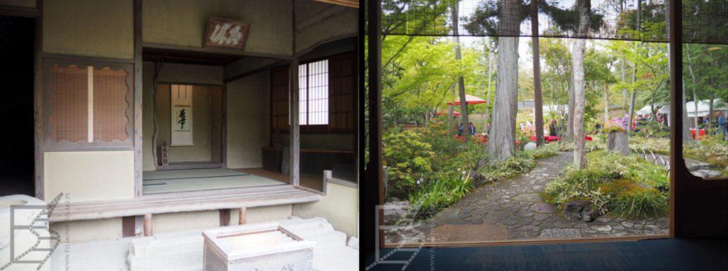 Styl japoński we wnętrzach i architekturze - herbaciarnia