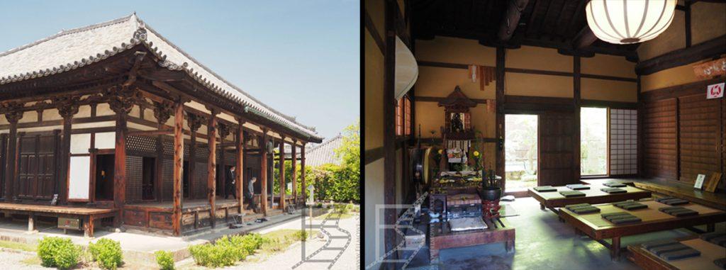 Styl japoński we wnętrzach i architekturze - klasztor buddyjski