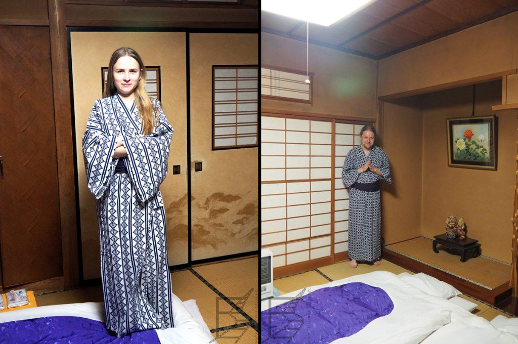 Styl japoński we wnętrzach tradycyjnego hotelu, czyli ryokanu